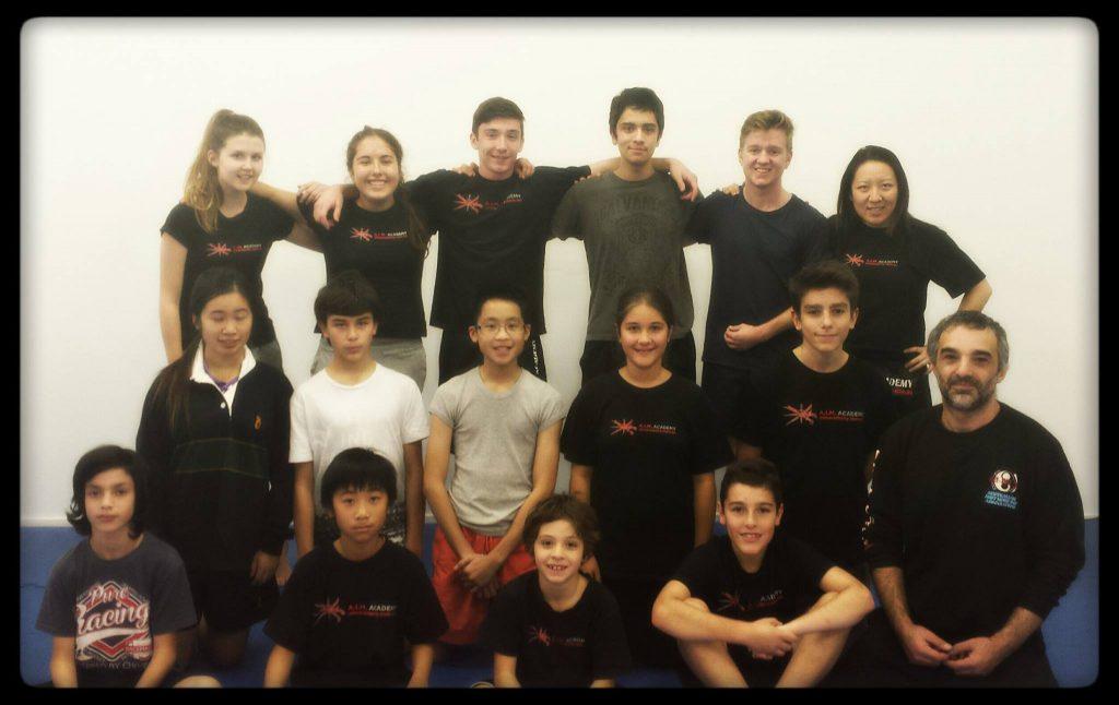 Martial Arts Melbourne | A.I.M. Academy | Teens Martial Arts and Self-Defence Classes