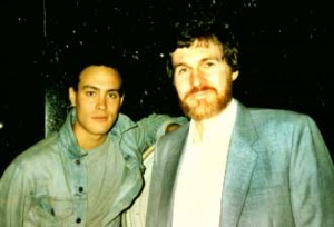 Brandon Lee and Walt Missingham