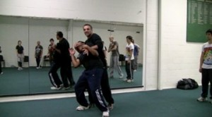 Robert Halaijian teaching RBSD at the Self-Defence Training Day