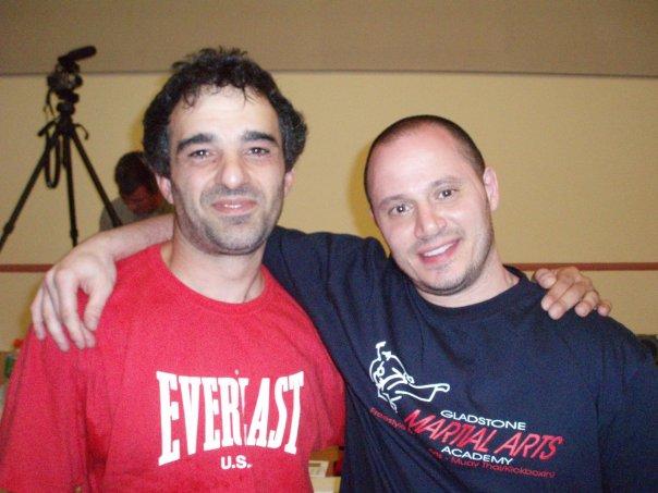 Robert Halaijian with Richard Dimitri