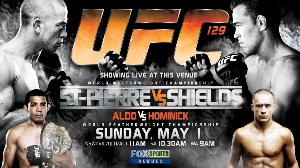 UFC 129 Poster