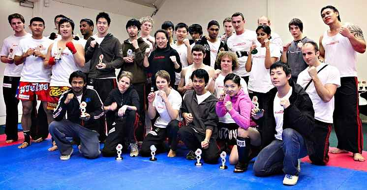 A.I.M. Academy - Monash Kickboxing - Group Shot