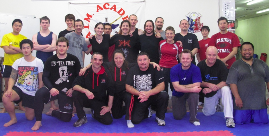 Group Photo - 12-Hour Knife-Fighting Arts Seminar - A.I.M. Academy