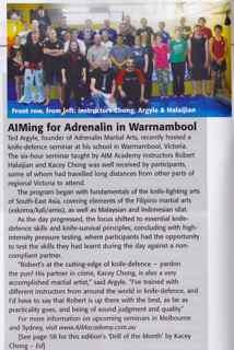 Blitz & Pieces - AIMing for Adrenalin - AIM Academy - Kacey Chong