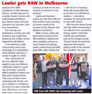 Blitz & Pieces - Lawler gets RAW in Melbourne - AIM Academy - Kacey Chong