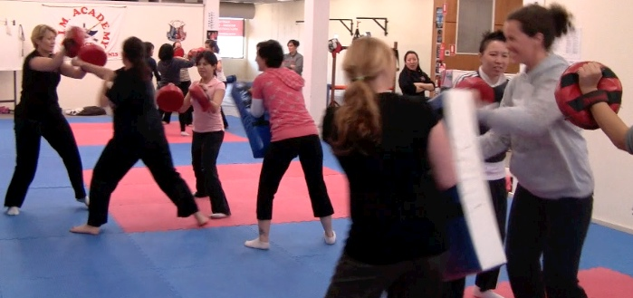 Women's Self-Defence - A.I.M. Academy - Group10