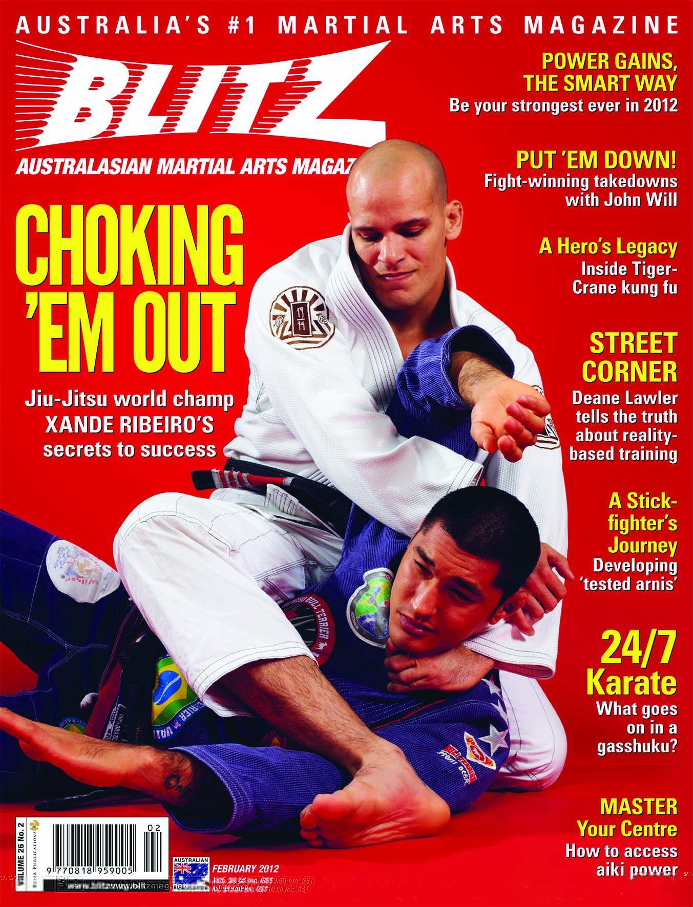 Cover - Feb 2012 - Blitz Magazine