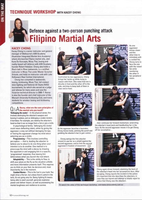 Blitz Magazine Technique Workshop - Feb 2012 - Kacey Chong