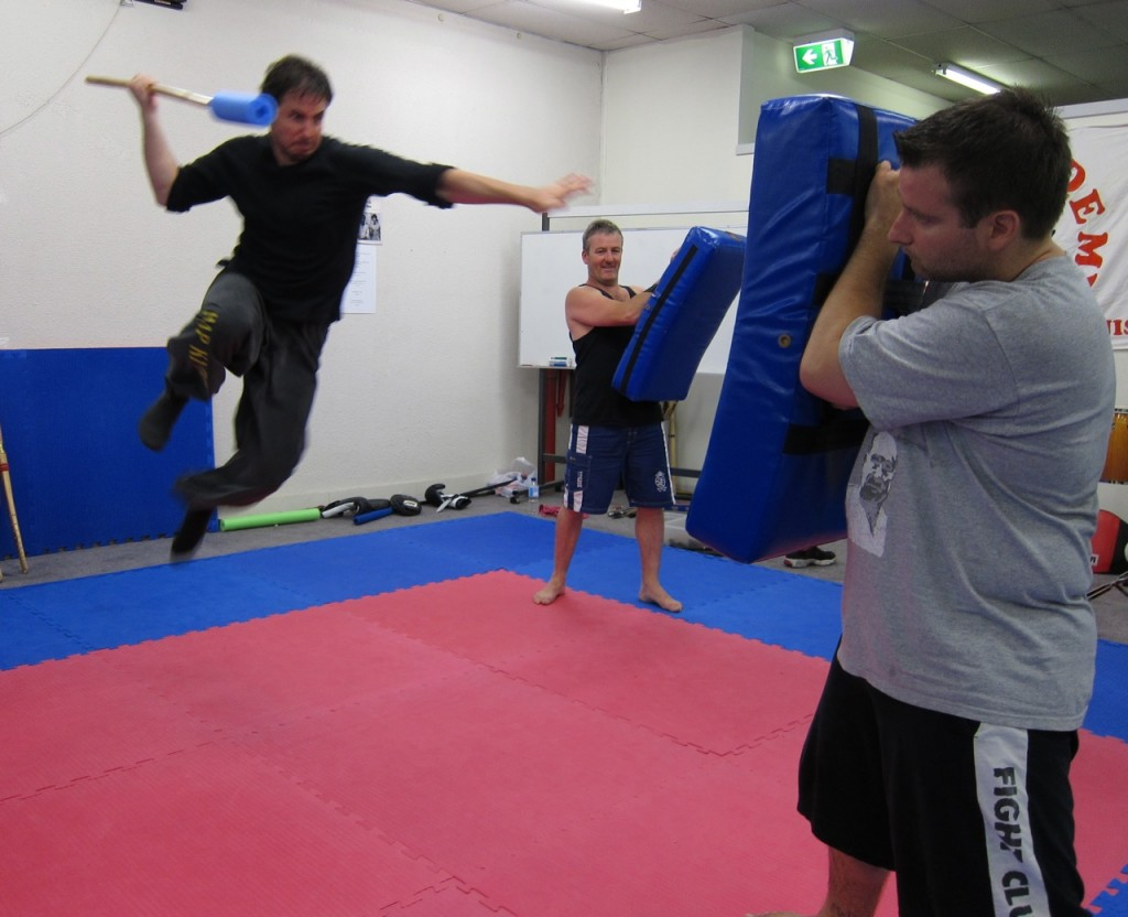 Muay Boran & Krabi Krabong Training Day at A.I.M. Academy - Mark