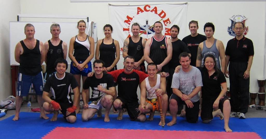Muay Boran & Krabi Krabong Training Day at A.I.M. Academy - Group Photo