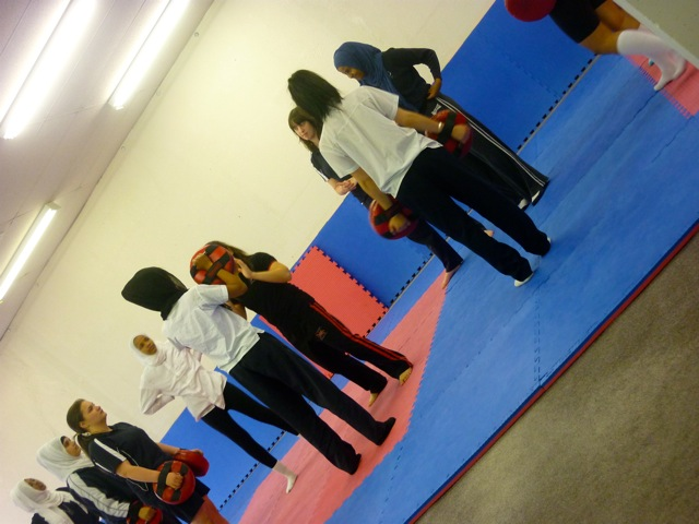 Kickboxing and Self-Defence Workshop for Teenage Girls