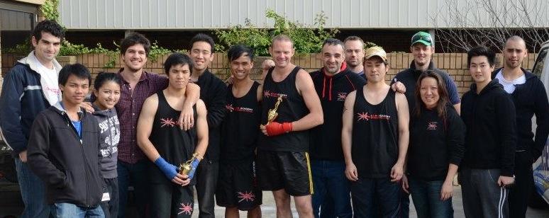 Boxing & Kickboxing at Interclub - AIM Academy Group Shot