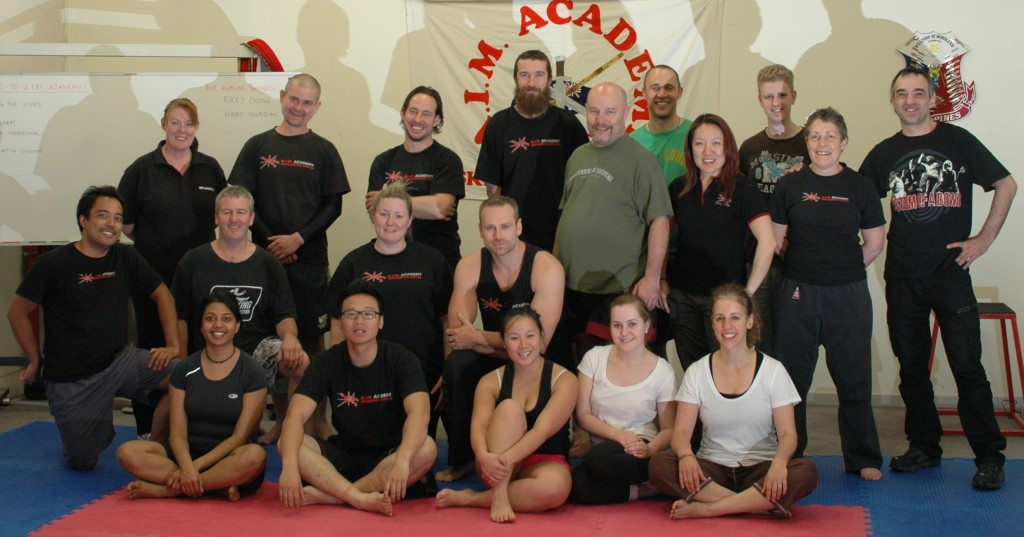 Reality-Based Self-Defence Training Day at A.I.M. Academy