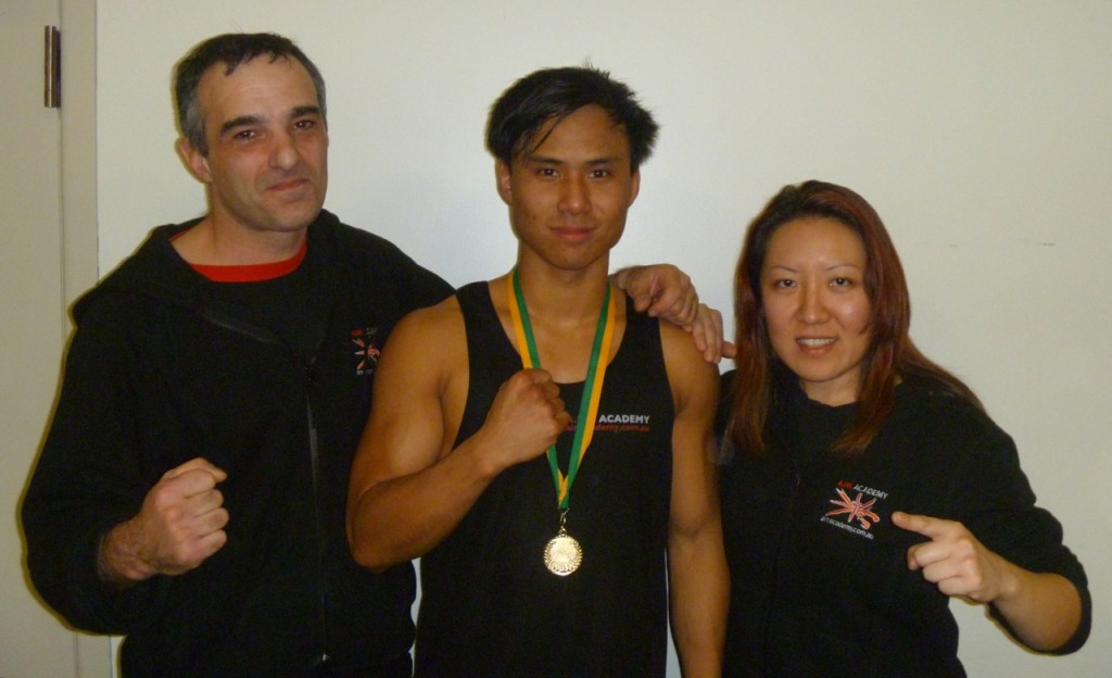 A.I.M. Academy Fighter, John Luong, Wins State Title
