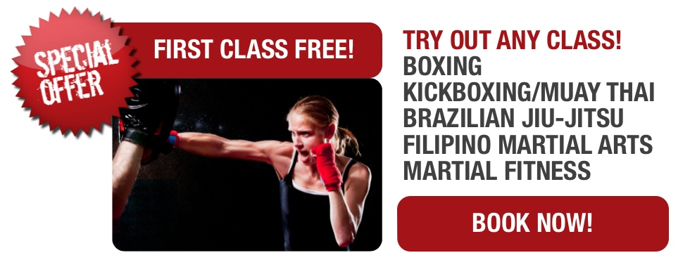 First Class Free - Martial Arts Melbourne
