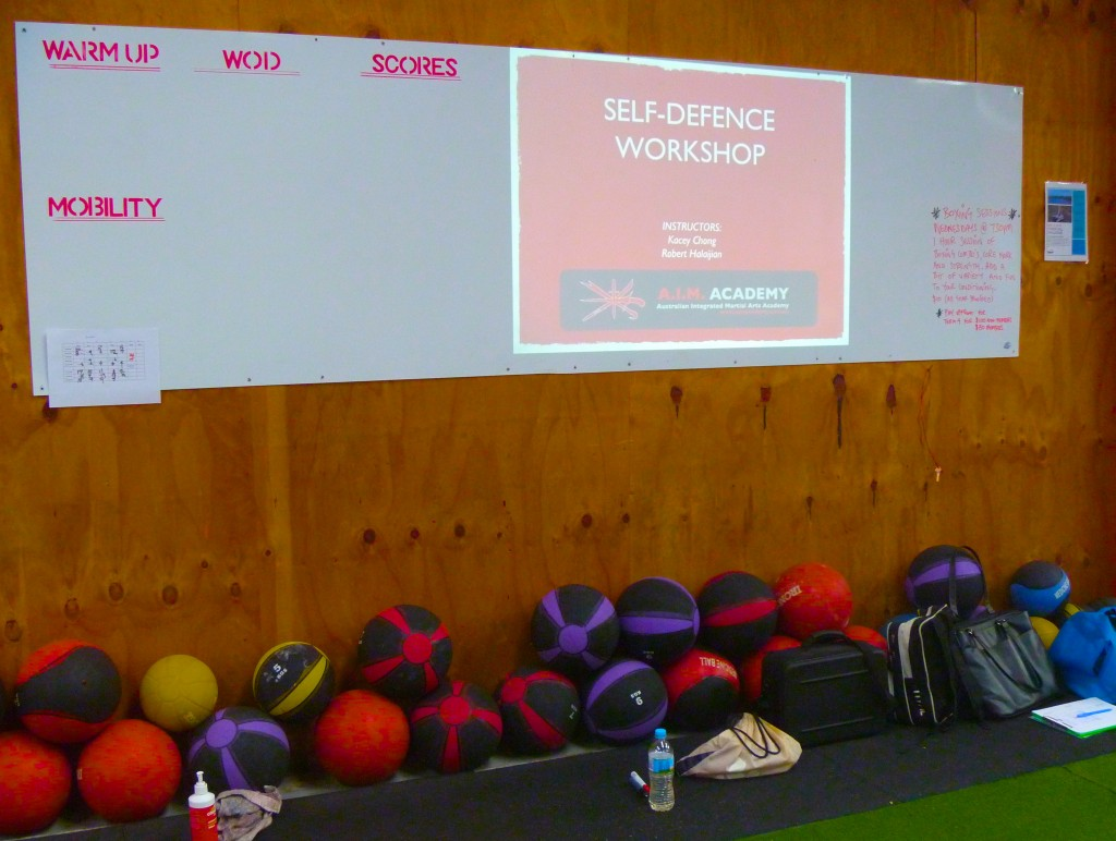 Self-Defence Workshop | A.I.M. Academy at CrossFit Warrnambool