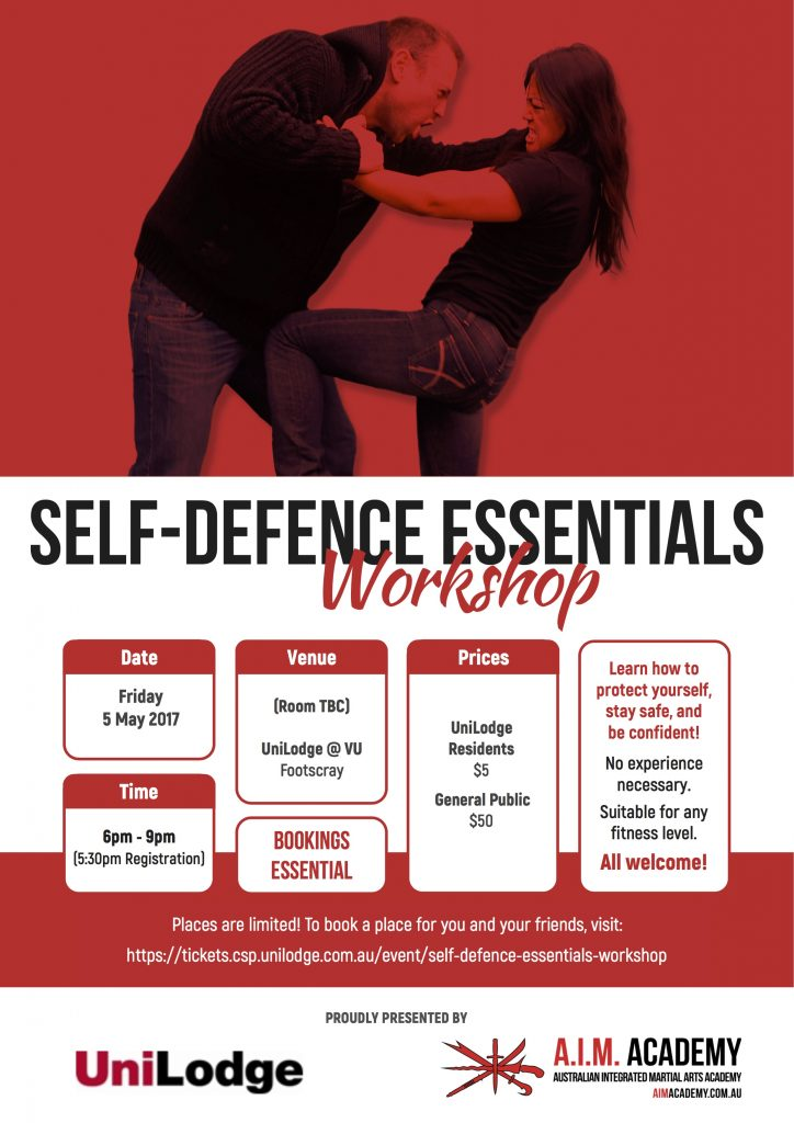 Self-Defence Workshop | UniLodge at VU