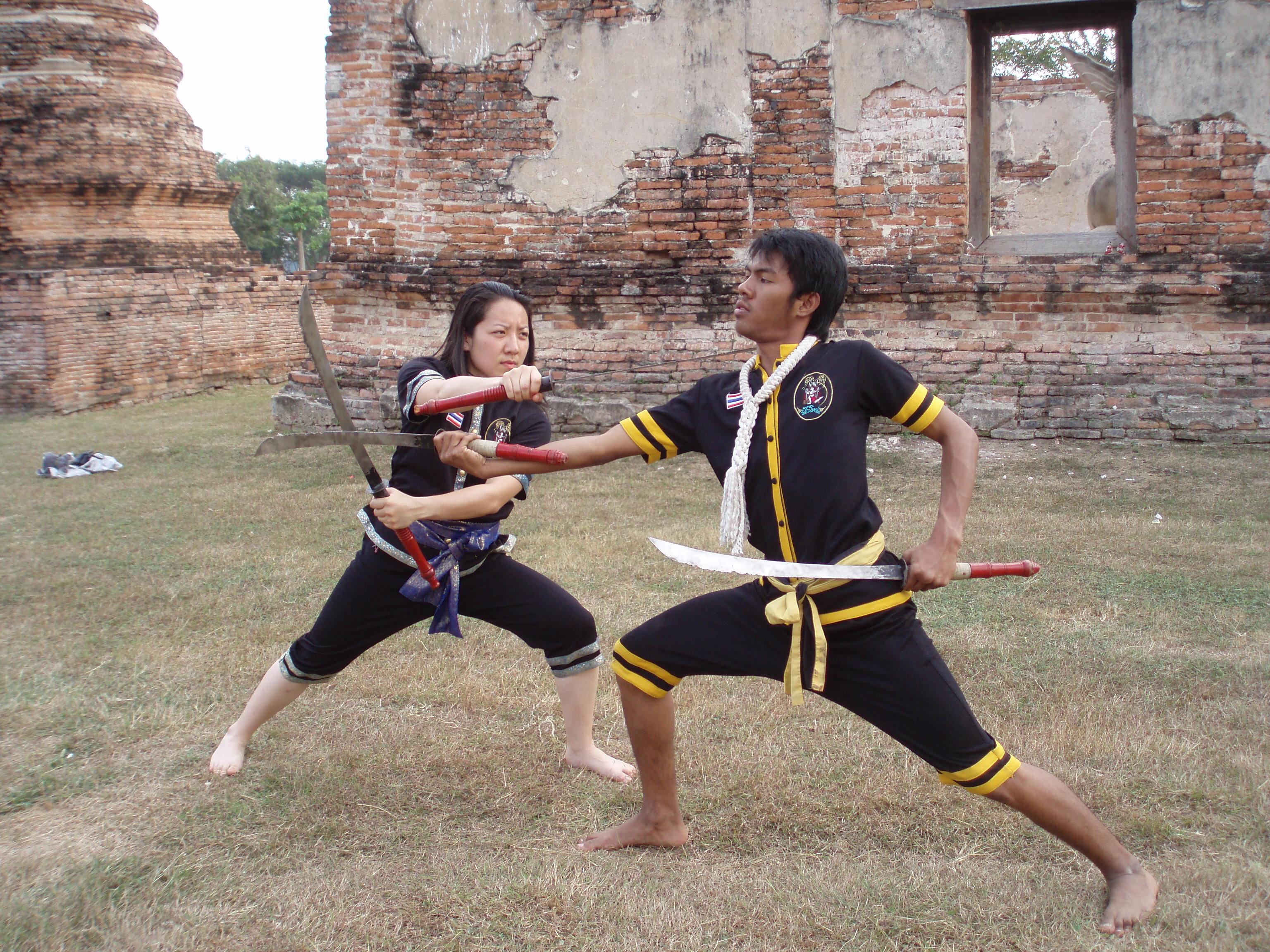A.I.M. Academy Krabi Krabong - Kacey Chong