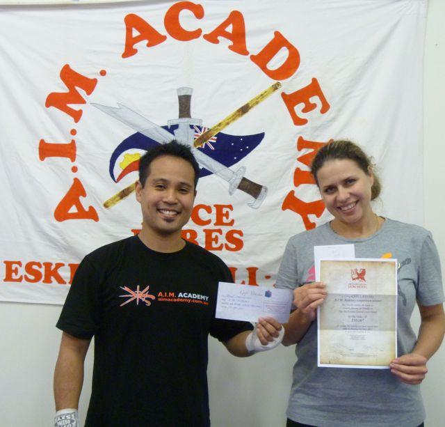 A.I.M. Academy Bring-a-Friend Winners